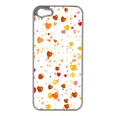Heart 2014 0605 Apple iPhone 5 Case (Silver)