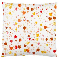 Heart 2014 0605 Large Flano Cushion Cases (two Sides)