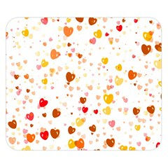 Heart 2014 0605 Double Sided Flano Blanket (small)