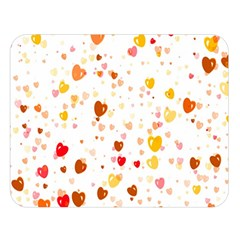 Heart 2014 0605 Double Sided Flano Blanket (Large)
