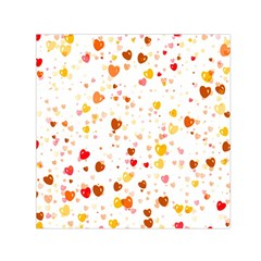 Heart 2014 0605 Small Satin Scarf (square)