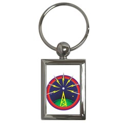 Broadcast Key Chains (Rectangle)