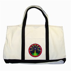 Broadcast Two Tone Tote Bag