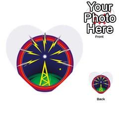 Broadcast Multi-purpose Cards (Heart)