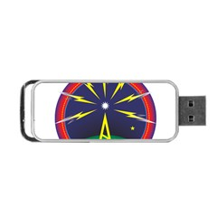 Broadcast Portable Usb Flash (one Side)