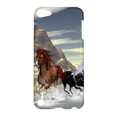 Beautiful Horses Running In A River Apple iPod Touch 5 Hardshell Case