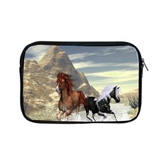 Beautiful Horses Running In A River Apple iPad Mini Zipper Cases