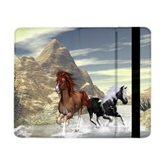 Beautiful Horses Running In A River Samsung Galaxy Tab Pro 8.4  Flip Case