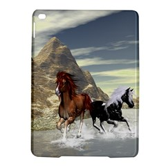 Beautiful Horses Running In A River Ipad Air 2 Hardshell Cases