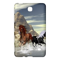 Beautiful Horses Running In A River Samsung Galaxy Tab 4 (7 ) Hardshell Case