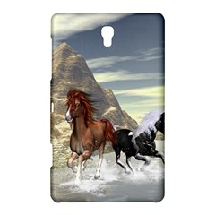 Beautiful Horses Running In A River Samsung Galaxy Tab S (8.4 ) Hardshell Case