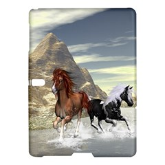 Beautiful Horses Running In A River Samsung Galaxy Tab S (10.5 ) Hardshell Case