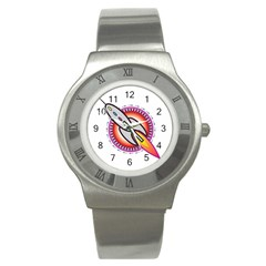 Space Rocket Stainless Steel Watches