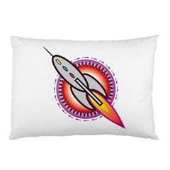 Space Rocket Pillow Cases