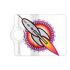 Space Rocket Kindle Fire HD (2013) Flip 360 Case