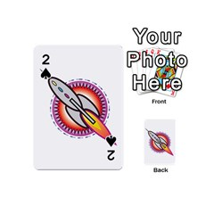 Space Rocket Playing Cards 54 (Mini)