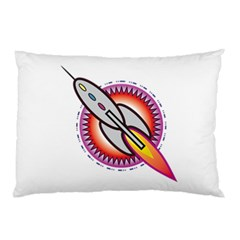 Space Rocket Pillow Cases (Two Sides)