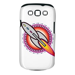 Space Rocket Samsung Galaxy S III Classic Hardshell Case (PC+Silicone)