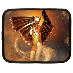 Beautiful Angel In The Sky Netbook Case (Large)