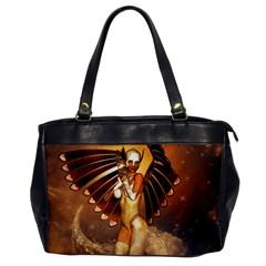 Beautiful Angel In The Sky Office Handbags