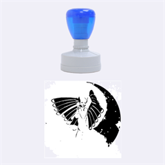 Beautiful Angel In The Sky Rubber Round Stamps (Medium)