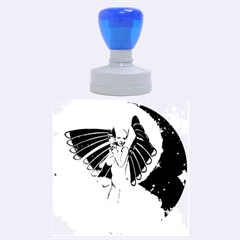 Beautiful Angel In The Sky Rubber Round Stamps (Large)