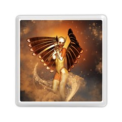 Beautiful Angel In The Sky Memory Card Reader (square)