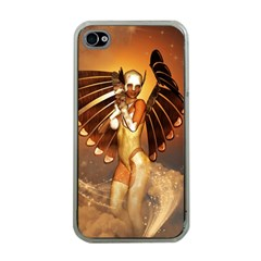 Beautiful Angel In The Sky Apple iPhone 4 Case (Clear)
