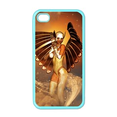 Beautiful Angel In The Sky Apple iPhone 4 Case (Color)