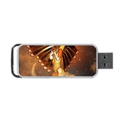 Beautiful Angel In The Sky Portable Usb Flash (two Sides)
