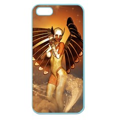 Beautiful Angel In The Sky Apple Seamless iPhone 5 Case (Color)