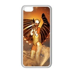 Beautiful Angel In The Sky Apple iPhone 5C Seamless Case (White)