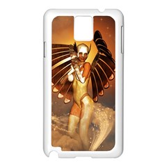 Beautiful Angel In The Sky Samsung Galaxy Note 3 N9005 Case (White)