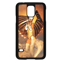 Beautiful Angel In The Sky Samsung Galaxy S5 Case (black)
