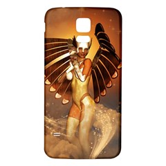 Beautiful Angel In The Sky Samsung Galaxy S5 Back Case (white)