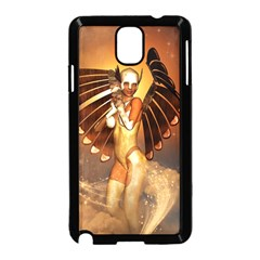 Beautiful Angel In The Sky Samsung Galaxy Note 3 Neo Hardshell Case (Black)