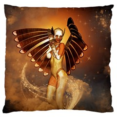 Beautiful Angel In The Sky Standard Flano Cushion Cases (One Side)