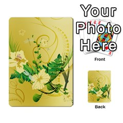 Wonderful Soft Yellow Flowers With Leaves Multi-purpose Cards (Rectangle)