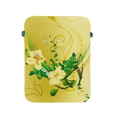 Wonderful Soft Yellow Flowers With Leaves Apple iPad 2/3/4 Protective Soft Cases