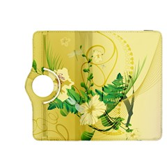 Wonderful Soft Yellow Flowers With Leaves Kindle Fire HDX 8.9  Flip 360 Case