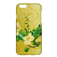 Wonderful Soft Yellow Flowers With Leaves Apple Iphone 6 Plus/6s Plus Hardshell Case