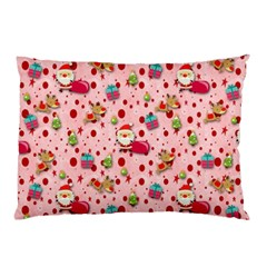 Red Christmas Pattern Pillow Cases