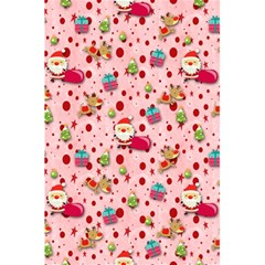 Red Christmas Pattern 5.5  x 8.5  Notebooks