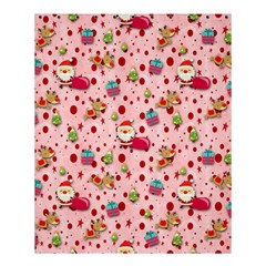 Red Christmas Pattern Shower Curtain 60  x 72  (Medium)
