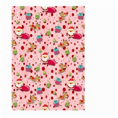 Red Christmas Pattern Large Garden Flag (Two Sides)