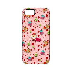 Red Christmas Pattern Apple iPhone 5 Classic Hardshell Case (PC+Silicone)