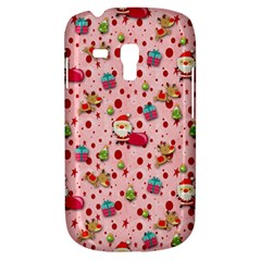 Red Christmas Pattern Samsung Galaxy S3 Mini I8190 Hardshell Case
