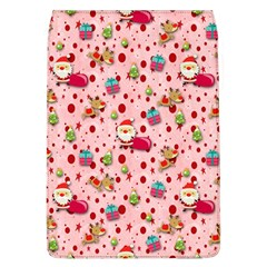 Red Christmas Pattern Flap Covers (L)
