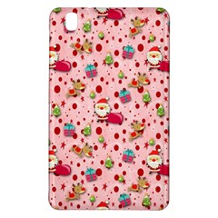 Red Christmas Pattern Samsung Galaxy Tab Pro 8 4 Hardshell Case