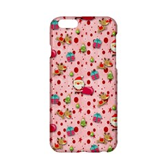 Red Christmas Pattern Apple Iphone 6/6s Hardshell Case
